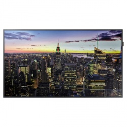 Samsung QM75F Pantalla Comercial LED 75'', 4K Ultra HD, Widescreen, Negro