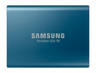 SSD Externo Samsung T5, 500GB, USB-C, Azul