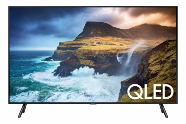 "Samsung Smart TV Class Q70R QLED 49"", 4K Ultra HD, Widescreen, Negro"