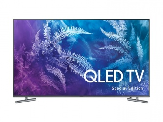Samsung Smart TV QLED QN55Q6FAMFXZA 55'', 4K Ultra HD, Widescreen, Titanium