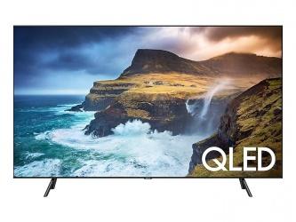 """Samsung Smart TV Class Q70R QLED 55"""", 4K Ultra HD, Widescreen, Negro"""