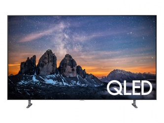 "Samsung Smart TV QLED Class Q80R 55"", 4K Ultra HD, Widescreen, Plata"