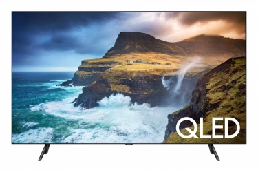 "Samsung Smart TV QLED Q70 65"", 4K Ultra HD, Widescreen, Negro"