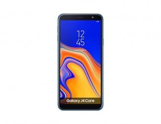 "Smartphone Samsung Galaxy J4 6"", 720 x 1280 Pixeles, 16GB, 1GB RAM, 4G LTE, Android 8.1, Azul"