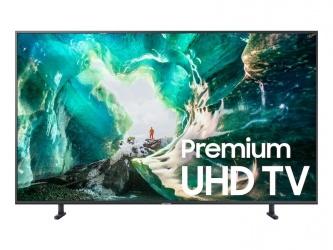 "Samsung Smart TV LED RU8000 49"", 4K Ultra HD, Widescreen, Negro"