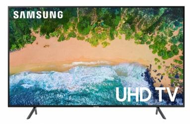 "Samsung Smart TV LED UN50NU7100F 50"", 4K Ultra HD, Widescreen, Negro"