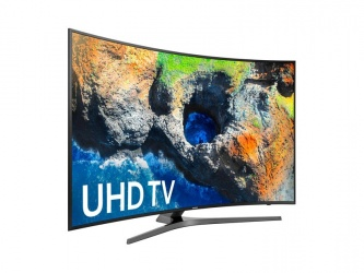Samsung Smart TV Curve LED UN55MU7500F 55'', 4K UltraHD, Widescreen, Negro