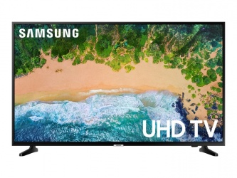 "Samsung Smart TV LED NU6900 55"", 4K Ultra HD, Widescreen, Negro"