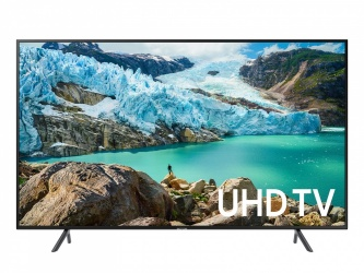 "Samsung Smart TV LED UN55RU7100FXZA 55"", 4K Ultra HD, Widescreen, Negro"