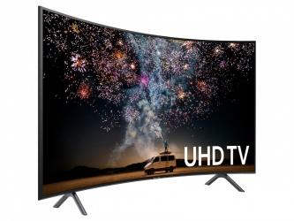 "Samsung Smart TV Curva ELED RU7300 55"", 4K Ultra HD, Widescreen, Negro"