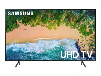 Samsung Smart TV LED NU7100 65'', 4K Ultra HD, Widescreen, Negro