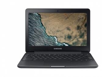 "Laptop Samsung Chromebook 3 XE500C13 11.6"" HD, Intel Celeron N3060 1.60GHz, 4GB, 32GB, Chrome OS, Negro ― Teclado en Inglés"