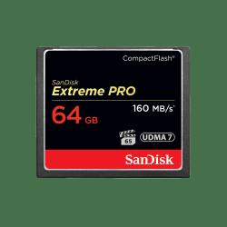 Memoria Flash SanDisk Extreme PRO, 64GB CompactFlash