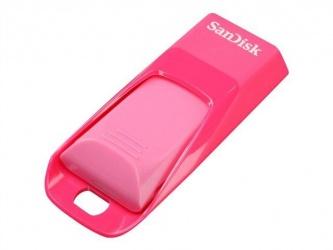 Memoria USB SanDisk Cruzer Edge, 8GB, Rosa