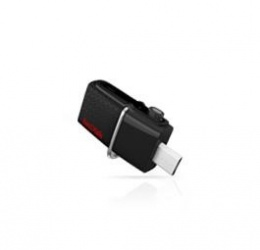 Memoria USB SanDisk Ultra Dual, 16GB, USB A 3.0/Micro USB, Negro