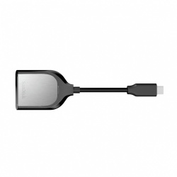 SanDisk Lector de Memoria Extreme PRO, SD, USB C, Negro/Plata