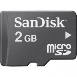 Memoria Flash SanDisk, 2GB microSD