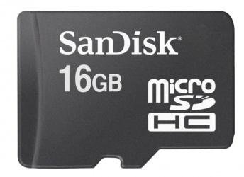Memoria Flash SanDisk, 16GB MicroSDHC Clase 4