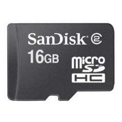 Memoria Flash SanDisk, 16GB microSD Clase 4