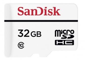 Memoria Flash SanDisk, 32GB microSDXC Clase 10, para Monitoreo por Video de Gran Resistencia