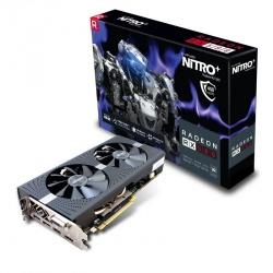 Tarjeta de Video Sapphire AMD Radeon RX 580 NITRO+, 4GB 256-bit GDDR5, PCI Express x16 2.0 ― ¡Gratis 3 meses Xbox Game Pass PC! (1 código por cliente)