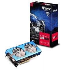 Tarjeta de Video Sapphire AMD Radeon RX 590 Nitro, 8GB 256-bit GDDR5, PCI Express 3.0