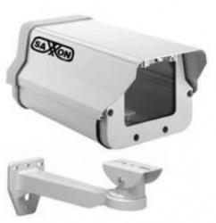 Saxxon Kit de Housing Gabinete Exterior Tipo Flip Open para Cámara Bullet, Brazo 25cm, Blanco