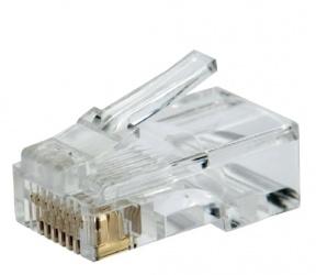 SBE Tech Conector RJ-45 Cat6, Transpartente, 50 Piezas