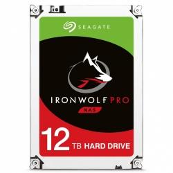 Disco Duro para NAS Seagate Ironwolf Pro 3.5'' de1 a 16 Bahías, 12TB, SATA III, 6 Gbit/s, 7200RPM, 256MB Cache