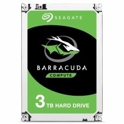 Disco Duro Interno Seagate Barracuda 3.5'', 3TB, SATA III, 6 Gbit/s, 7200RPM, 64MB Cache