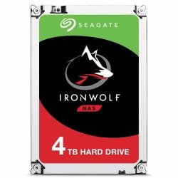 Disco Duro para NAS Seagate IronWolf 3.5'', 4TB, SATA III, 6 Gbit/s, 5900RPM, 64MB Cache - 20 Piezas
