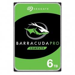 Disco Duro Interno Seagate Barracuda Pro 3.5'', 6TB, SATA III, 6 Gbit/s, 7200RPM, 256MB Cache