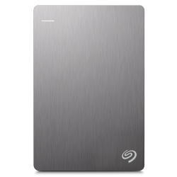 Disco Duro Externo Seagate Backup Plus Slim Portátil 2.5'', 1TB, USB 3.0, Plata - para Mac/PC