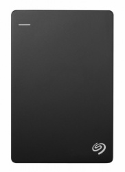 Disco Duro Externo Seagate Backup Plus Slim Portátil 2.5'', 2TB, USB 3.0, Negro - para Mac/PC
