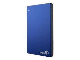 Disco Duro Externo Seagate Backup Plus Slim Portátil 3.5'', 2TB, USB 3.0, Azul - para Mac/PC