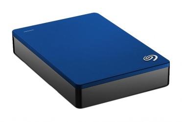 Disco Duro Externo Seagate Backup Plus, 4TB, USB, Azul, para Mac/PC