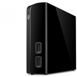 Disco Duro Externo Seagate Backup Plus Hub, 4TB, USB 3.0, Negro - para Mac/PC