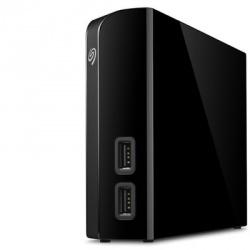 Disco Duro Externo Seagate Backup Plus Hub, 6TB, USB 3.0, Negro - para Mac/PC