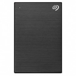 Disco Duro Externo Seagate Backup Plus Slim, 2TB, USB, Negro - para Mac/PC