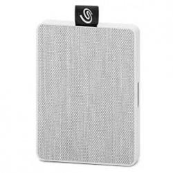 SSD Externo Seagate One Touch, 500GB, USB, Blanco - para Mac/PC