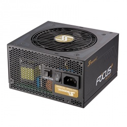 Fuente de Poder Seasonic FOCUS 80 PLUS Gold, 20+4 pin ATX, 120mm, 750W