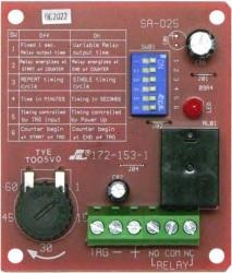Seco-Larm Temporizador Programable Multiuso Enforcer SA-025Q, 1 Segundo - 60 Minutos