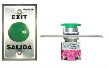 Seco-Larm Botón de Salida SD-7201-GCPE1, Alámbrico, Acero Inoxidable