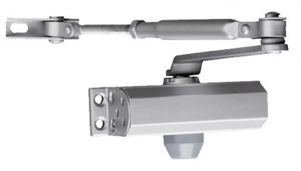 Seco-Larm Brazo Cierrapuertas SD-C121-S, hasta 45kg