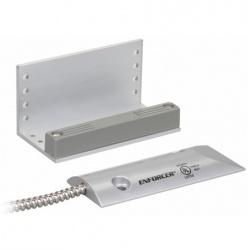 Seco-Larm Contacto Magnético SM-226L-3Q para Puertas, Acero Inoxidable