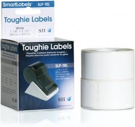 Seiko Instruments Rollo de Etiquetas SLP-TRL, Térmica Directa, 2.8 x 8.9cm, 130 Etiquetas, Blanco - 2 Rollos