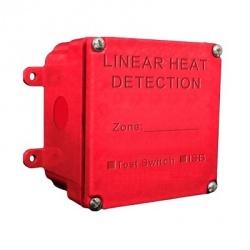 SFire Caja de Empalme para Cable Detector de Calor, Rojo