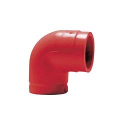 SFire Codo de 90° para Uso en Tubería de Detección por Aspiración, Rojo