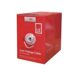 SFire Bobina de Cable para Alarma de 2 Conductores, 305 Metros, Blanco