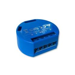 Shelly Módulo Relevador 1, Interruptor WiFi Cloud, Azul, Compatible con Google/Alexa